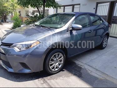 Toyota Corolla Base usado (2016) color Gris precio $165,000
