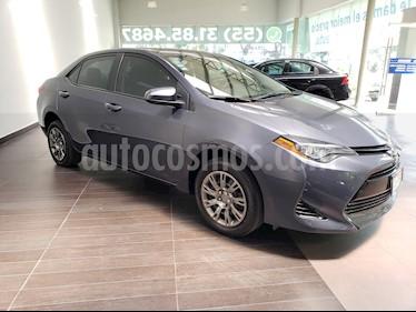 Toyota Corolla Base Aut usado (2018) color Gris precio $239,900