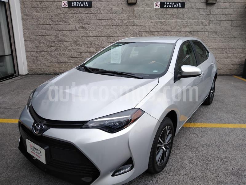 Toyota Corolla LE 1.8L usado (2019) color Plata Dorado precio $287,000
