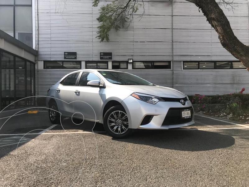 Toyota Corolla C usado (2016) color Plata Dorado precio $190,000