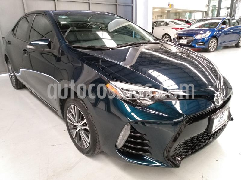 Toyota Corolla SE usado (2018) color Azul precio $262,900
