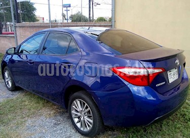 Toyota Corolla SE Aut usado (2014) color Azul precio $143,000