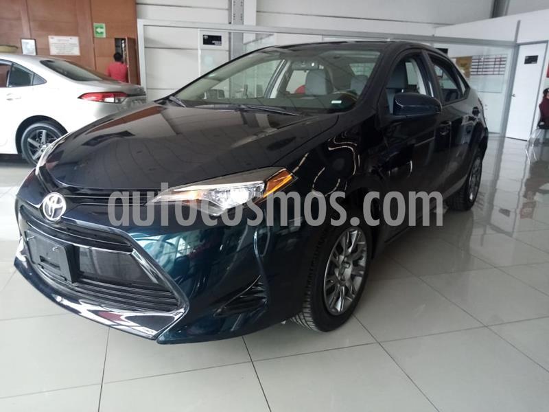 Toyota Corolla Base usado (2018) color Azul precio $239,000