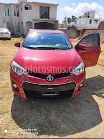 Toyota Corolla S Plus Aut usado (2014) color Rojo precio $158,000