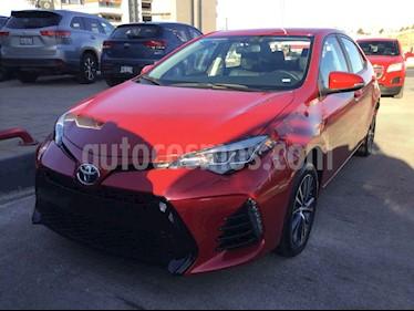 Toyota Corolla 4p SE Plus L4/1.8 Aut usado (2017) color Rojo precio $295,000