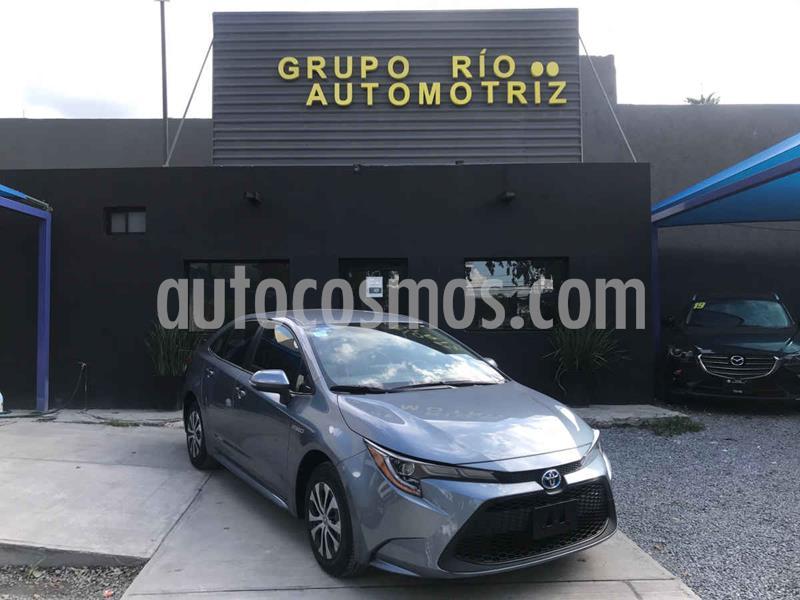 Toyota Corolla Hybrid Aut usado (2020) color Gris precio $369,000