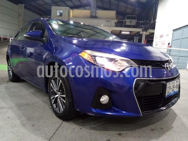 Toyota Corolla S usado (2016) color Azul precio $219,000