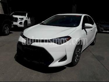 Toyota Corolla 4p Base L4/1.8 Aut usado (2018) color Blanco precio $235,000