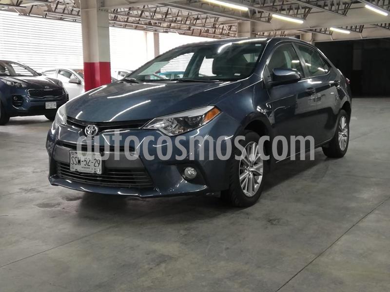Toyota Corolla LE 1.8L usado (2015) color Gris precio $165,000