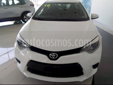 Toyota Corolla Base usado (2016) color Blanco precio $170,000