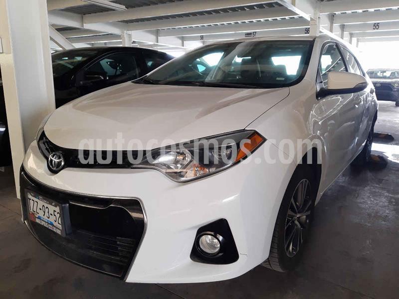 Toyota Corolla S 1.8L  usado (2016) color Blanco precio $219,000