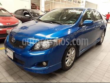 Foto Toyota Corolla 4p XRS Aut 2.4L A/A E/E CD R-16 Spoiler usado (2009) color Azul precio $142,000