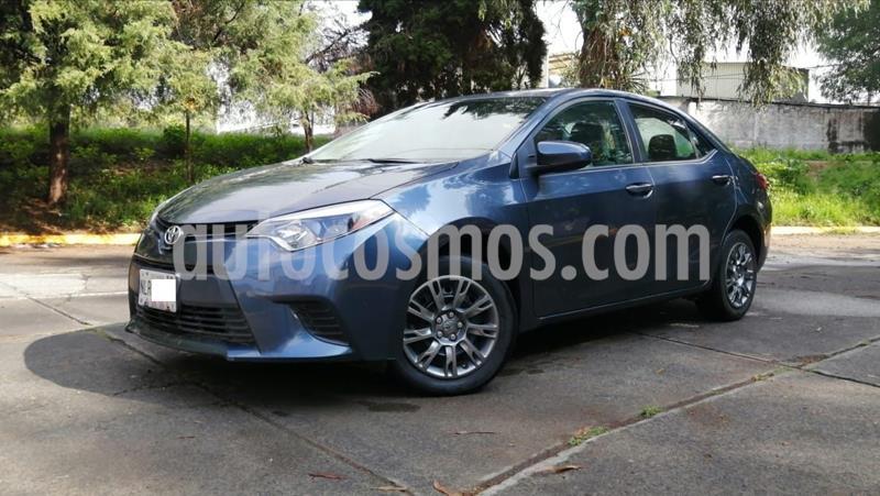 Toyota Corolla Base Aut usado (2015) color Azul precio $169,000