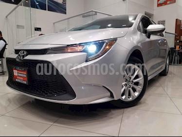 Toyota Corolla 4p LE L4/1.8 Aut usado (2020) color Plata precio $343,000