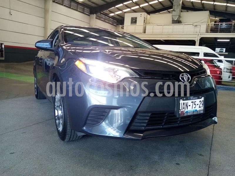 Toyota Corolla Base Aut usado (2016) color Gris Metalico precio $199,000