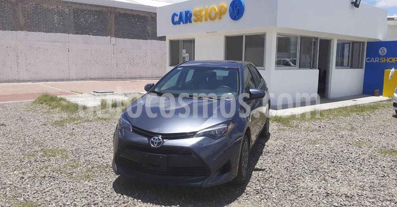 Toyota Corolla Base Aut usado (2019) color Gris precio $229,900