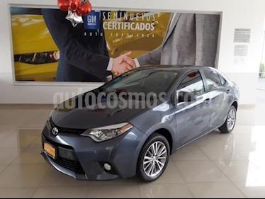 Toyota Corolla 4p LE L4/1.8 Aut usado (2014) color Gris precio $193,900