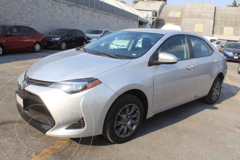 Toyota Corolla Base Aut usado (2018) color Plata precio $232,000