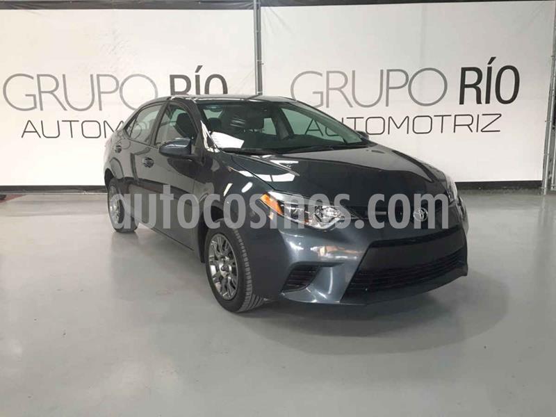Toyota Corolla Base Aut usado (2016) color Gris precio $194,000