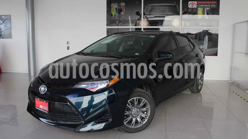 Toyota Corolla Base usado (2018) color Azul precio $230,000