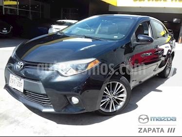 Toyota Corolla LE 1.8L Aut usado (2014) color Negro precio $175,000