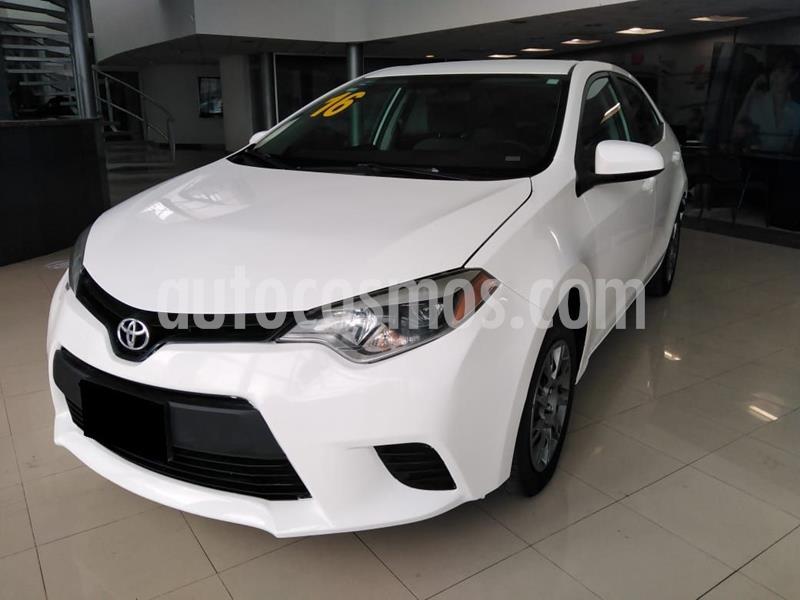 Toyota Corolla Base Aut usado (2016) color Blanco precio $179,900