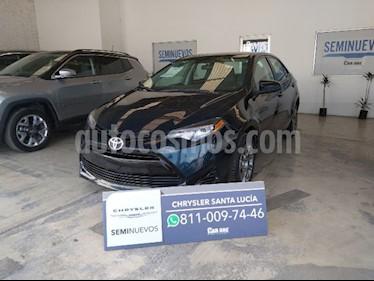 Toyota Corolla Base usado (2017) color Azul precio $230,000