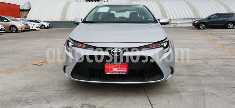 Toyota Corolla Base Aut usado (2020) color Plata precio $299,000