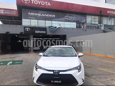 Toyota Corolla LE Aut usado (2020) color Blanco precio $335,000