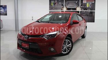 Toyota Corolla LE 1.8L Aut usado (2015) color Rojo precio $198,000