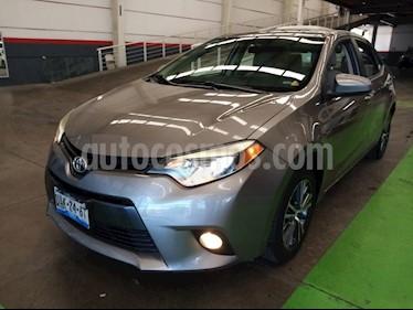 Toyota Corolla LE 1.8L usado (2016) color Bronce precio $229,000