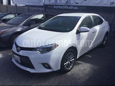 Toyota Corolla LE 1.8L Aut usado (2014) color Blanco precio $180,000
