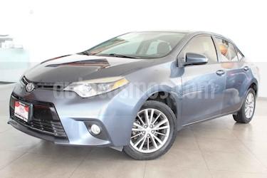 Toyota Corolla 4p LE L4/1.8 Aut usado (2015) color Azul precio $198,000