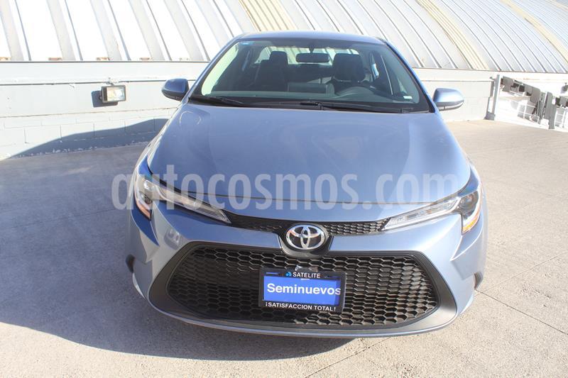 Toyota Corolla Base Aut usado (2020) color Gris Celeste precio $325,000