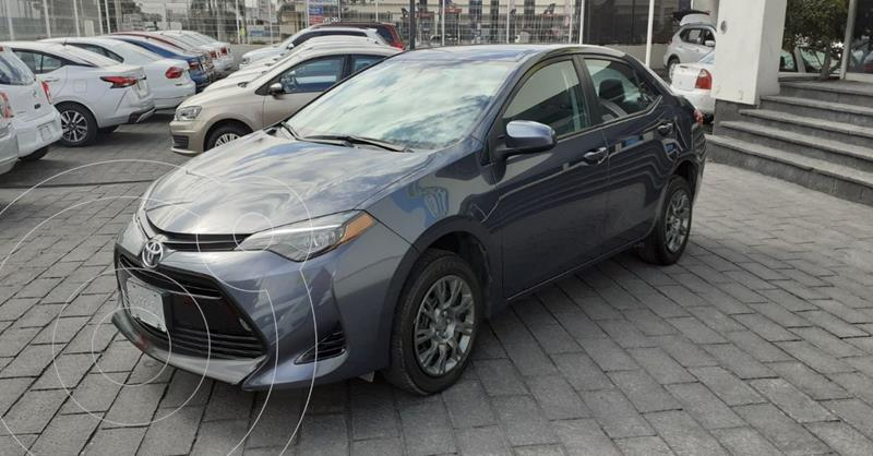 Toyota Corolla Base usado (2019) color Gris precio $229,900
