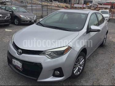 Toyota Corolla 4p S L4/1.8 Aut usado (2015) color Plata precio $225,000