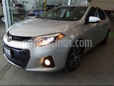Toyota Corolla S usado (2016) color Plata Metalico precio $239,000