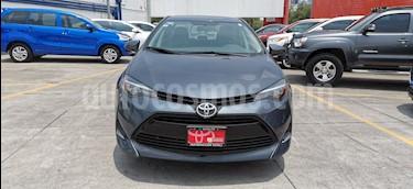 Toyota Corolla LE 1.8L Aut usado (2017) color Gris Metalico precio $225,000