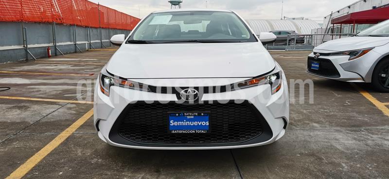 Toyota Corolla Base Aut usado (2020) color Blanco precio $329,000