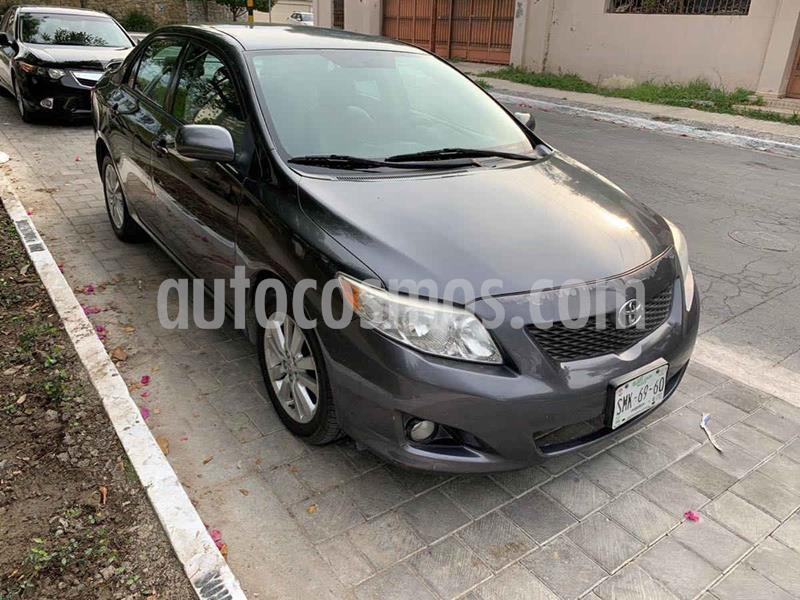 Toyota Corolla XLE 1.8L Aut usado (2010) color Gris precio $159,900