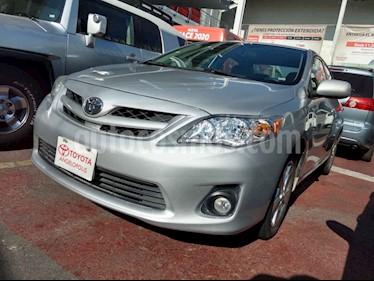 Toyota Corolla 4p XLE aut a/a ee CD R-16 ABS usado (2012) color Plata precio $155,000