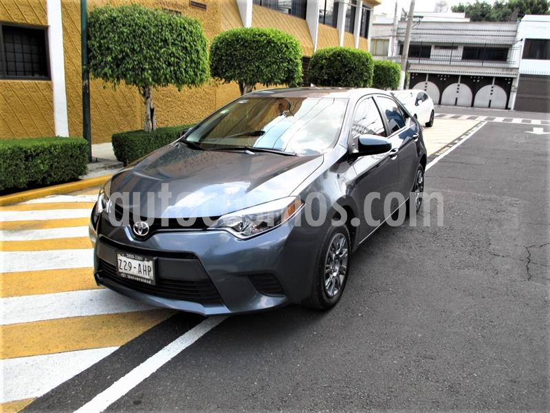 Toyota Corolla Base usado (2016) color Gris Metalico precio $179,900