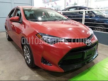 Toyota Corolla Base usado (2017) color Rojo precio $239,000