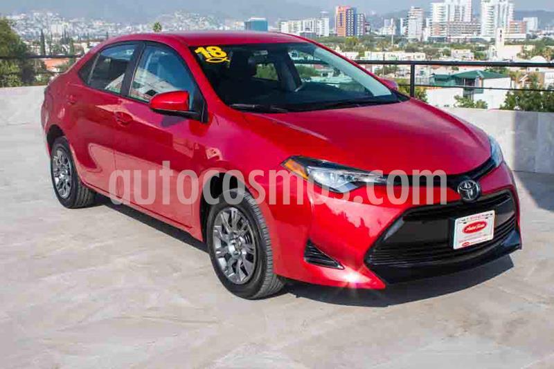 Toyota Corolla Base Aut usado (2018) color Rojo precio $224,700