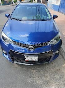 Toyota Corolla S Plus Aut usado (2014) color Azul precio $180,000