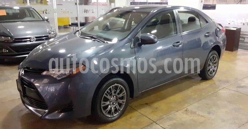 Toyota Corolla 4p Base L4/1.8 Aut usado (2019) color Gris precio $229,900
