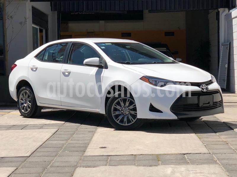 Toyota Corolla Base Aut usado (2017) color Blanco precio $199,000