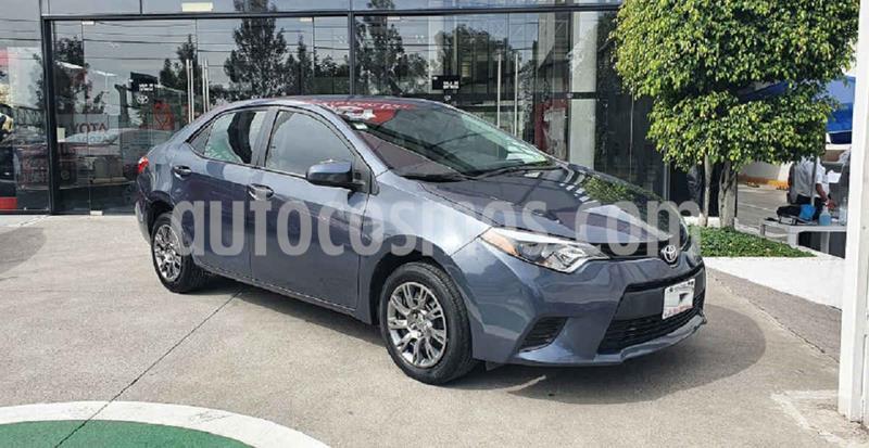 Toyota Corolla Base Aut usado (2016) color Gris precio $179,000