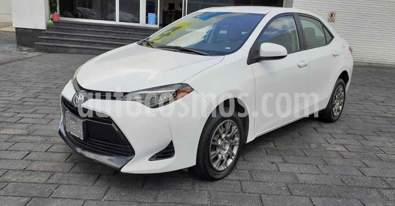 Toyota Corolla Base Aut usado (2019) color Blanco precio $229,900