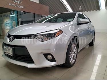Toyota Corolla 4p LE L4/1.8 Aut usado (2014) color Plata precio $182,000